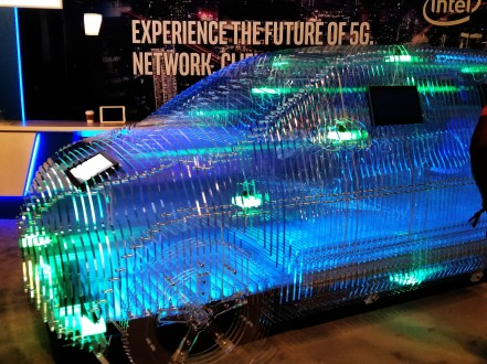 5G Technology exhibit on Warner Bros lot