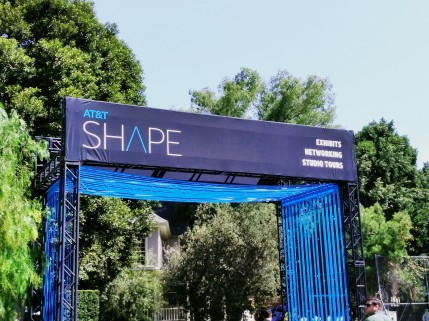 AT&T Shape Exhibition at Warner Bros