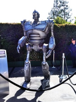 The Iron Giant on the Warner Bros lot